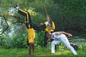 Capoeira - Fotograf: Magnus Hartman