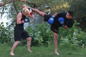 Kickboxning – Fotograf: Magnus Hartman